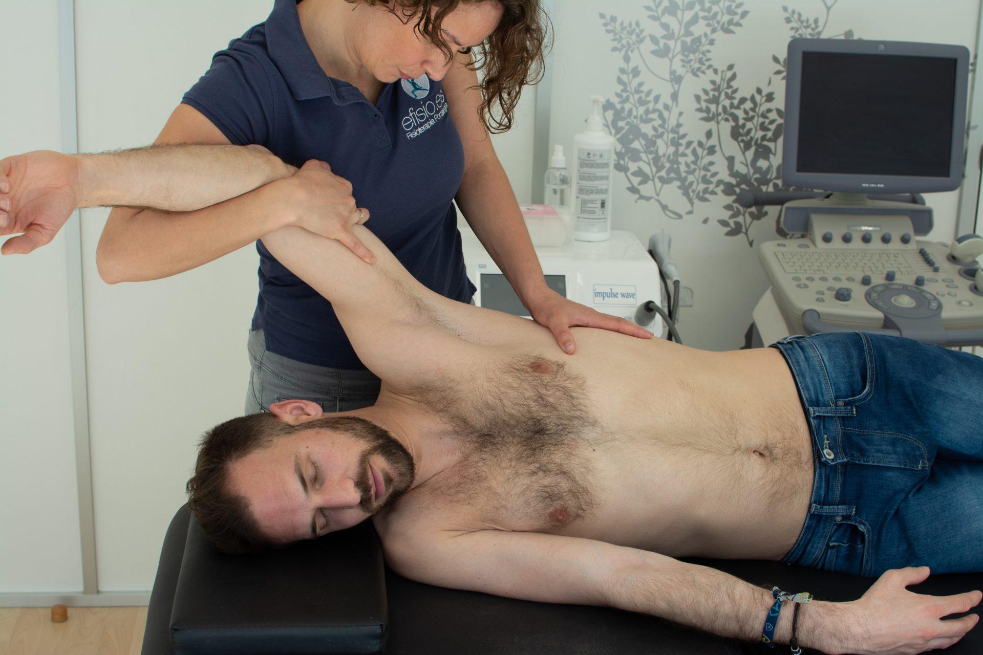 Tratamiento de Fisioterapia para el dolor de hombro