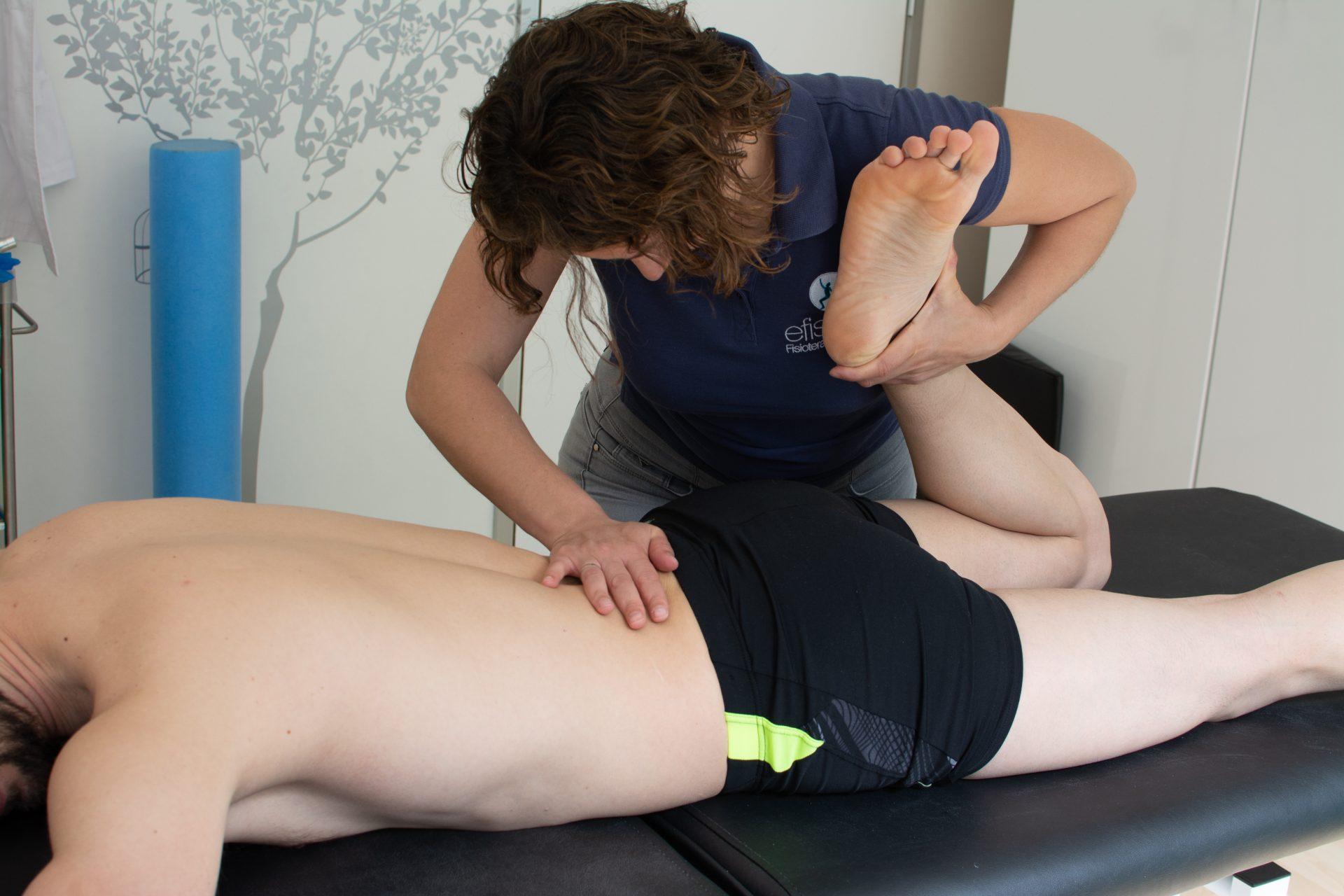 masaje deportivo piernas