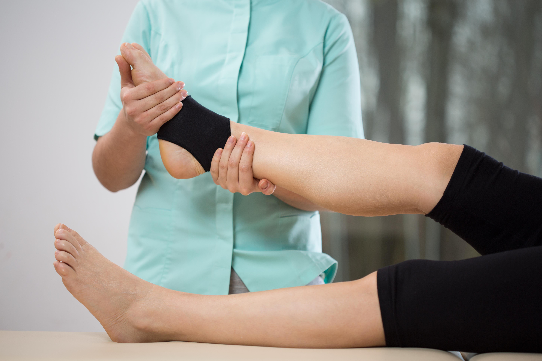 Fisioterapia Esguince Tobillo