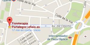 Centro de Fisioterapia Madrid Carabanchel Plaza Eliptica