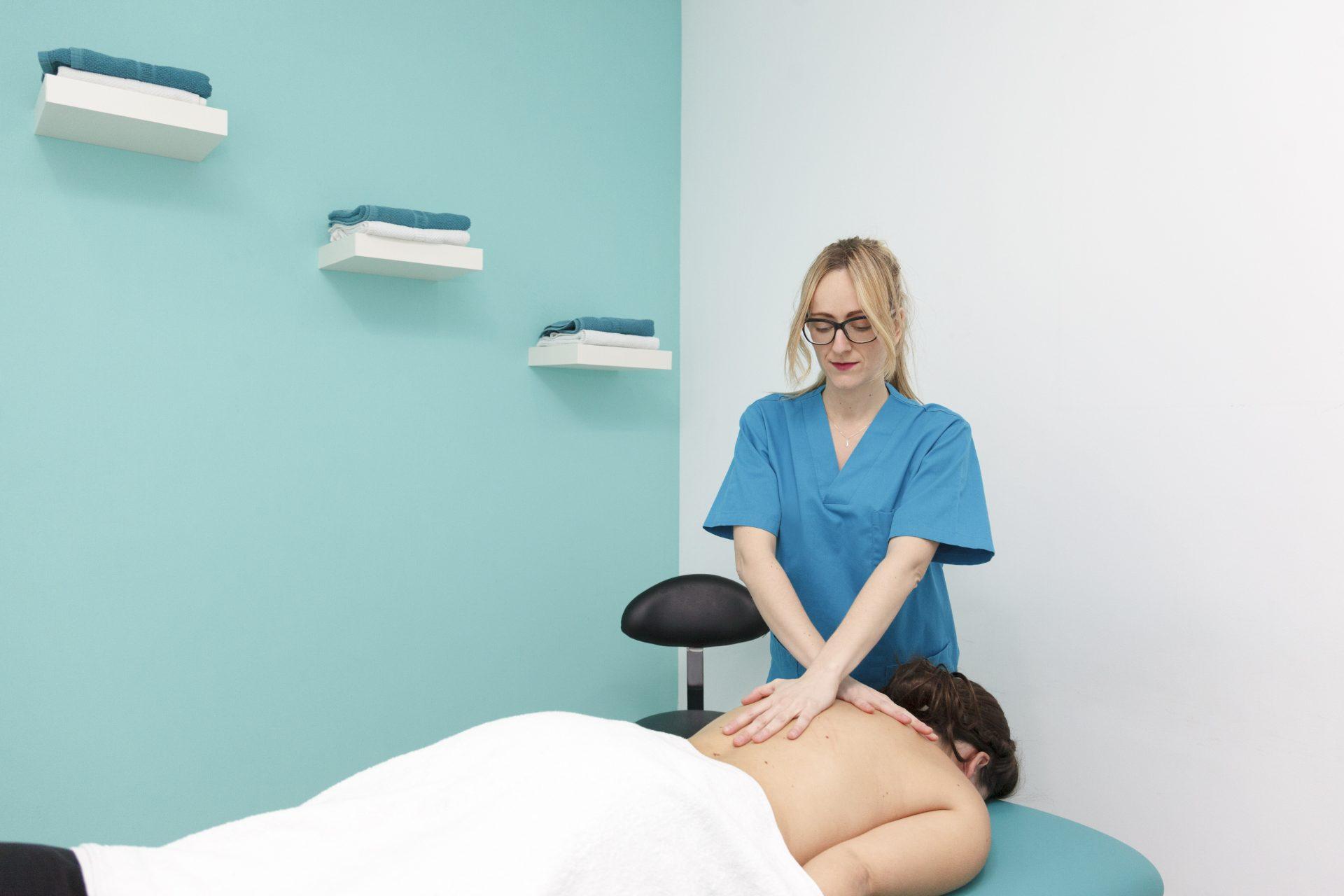 Masaje Terapéutico Fisioterapia