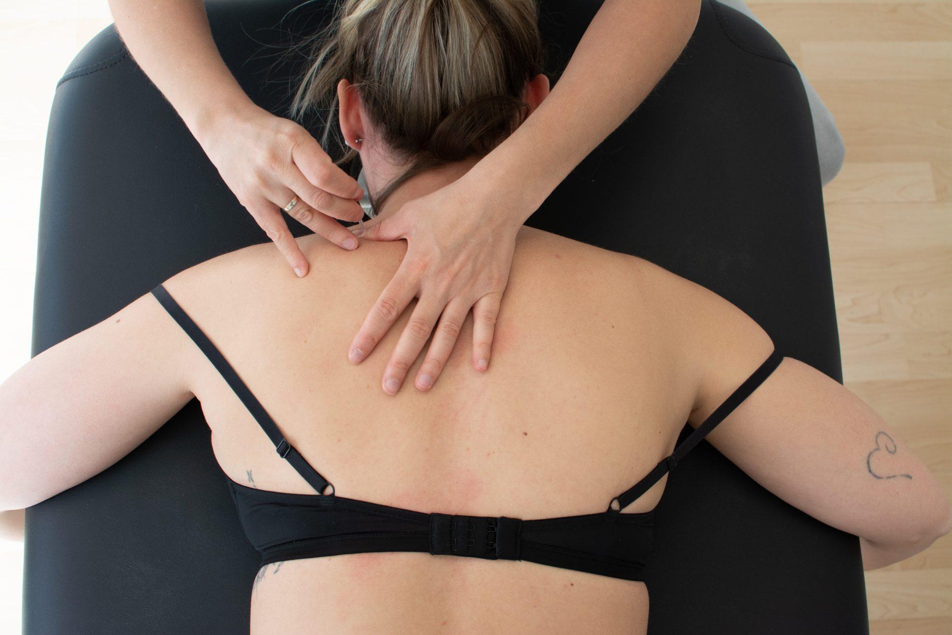 Punción seca cervical dolor de cuello