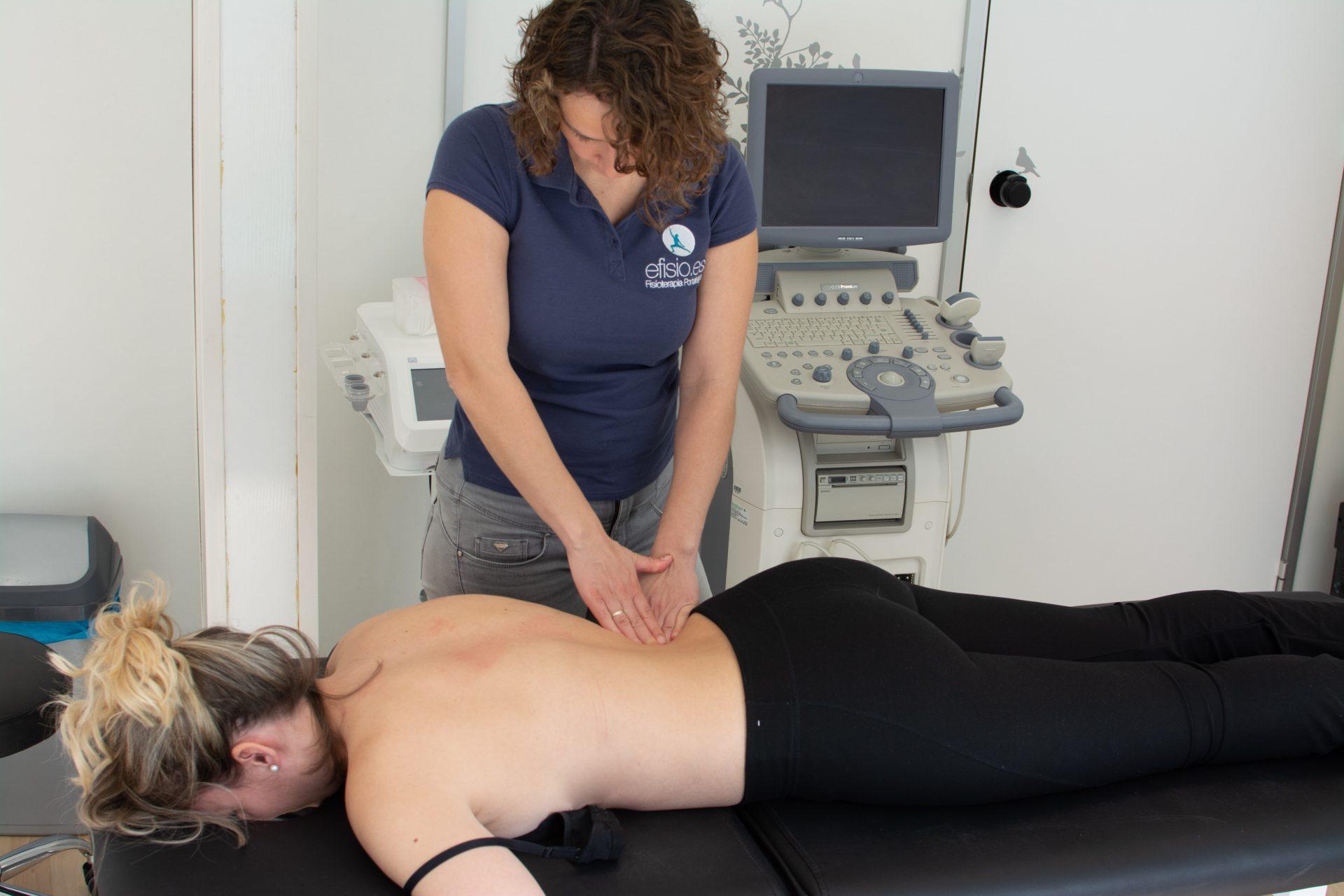 Terapia manual dolor lumbar